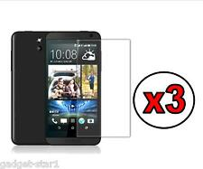 3x HQ CRYSTAL CLEAR SCREEN PROTECTOR COVER SAVER FILM GUARD FOR HTC DESIRE 610