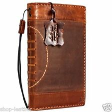 Genuine vintage leather Case for apple iphone 6s plus book wallet cover Sport au