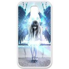 Coque housse étui tpu gel motif angel Samsung Galaxy S5 i9600 g900f