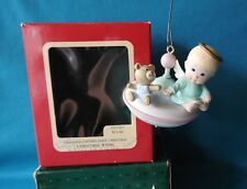 Carlton Ornament 1989 Christmas Whirl Granddaughter's First Christmas