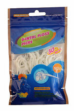 Dental Floss Picks-Pack De 50