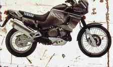 Yamaha XTZ750 SuperTenere 1995 Aged Vintage SIGN A3 LARGE Retro