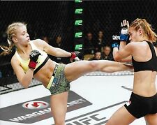 Paige VanZant & Kailin Curran 8x10 Photo UFC Debut 2014 Fight Night 57 Picture