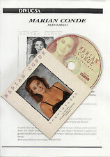 "MARIAN CONDE ""INQUIETUDES"" PROMO CD MAXI + PRESS NOTE / VALDERRAMA - SACRISTAN"