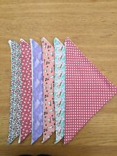 Set Of 6 Bandana Bibs, Dribble, Special Needs, Adult, Teenager