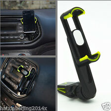Car Long Rocker Arm Scalable Vent Outlet Mobile Bracket Phone Holder Base Clip
