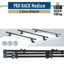 3 BARRE PORTATUTTO ACCIAIO PRO RACK MEDIUM PEUGEOT BIPPER