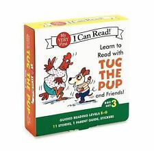 Learn to Read with Tug the Pup and Friends! Box Set 3: Levels Included: E-G My