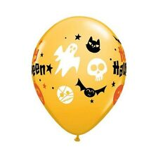 10 x HAPPY HALLOWEEN PARTY BALLOONS �� * Fast & Free Post * PARTY SUPPLIES