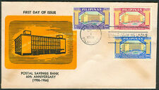 1966 Philippines POSTAL SAVINGS BANK 60TH ANNIVERSARY First Day Cover - B