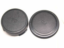 Body And Rear Lens Caps For Canon FD Mount UK Seller