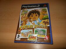 Go Diego Go! Safari Rescue (PS2) NEW SEALED