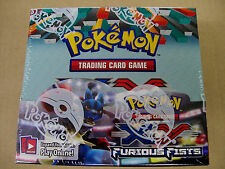 Pokemon Furious Fists XY sealed unopened booster box 36 packs of 10 cards