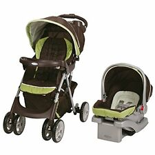 Graco Comfy Cruiser Click Connect TRAVEL SYSTEM, Foldable TRAVEL SYSTEM Go Green