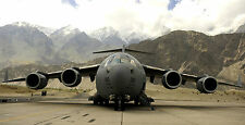 "C-17 GLOBEMASTER MILITARY AIR FORCE 22"" x 43""  LARGE HD WALL POSTER PRINT"