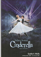 "2011--'CINDERELLA""--SADLER'S WELLS BALLET--ORIGINAL LONDON CAST--PROGRAM--NMT"
