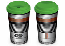 STAR WARS LIGHTSABER TRAVEL MUG CERAMIC BRAND NEW IN BOX GREAT GIFT DISNEY