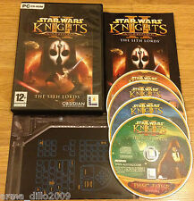 Star wars knights of the old republic ii 2 pour pc complet par lucas arts