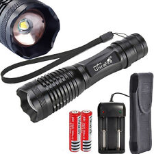 10000 Lumens Ultrafire CREE T6 LED Rechargeable Flashlight Torch Super Bright UK