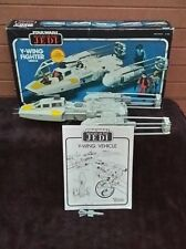 VINTAGE STAR WARS 1983 Y WING FIGHTER MINT IN BOX WORKING CONDITION!