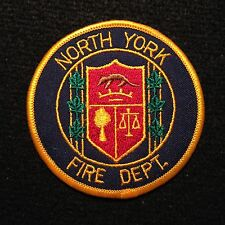 Canada North York Fire Department Patch / LAPD LAFD NYFD Firefighter NYFD EMT