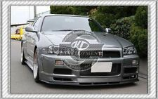 CARBON OE FRONT BUMPER BOTTOM LIP WITH UNDERTRAY FOR NISSAN SKYLINE R34 GTR