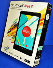 "BRAND NEW nextbook Ares 8 - 16GB, 8"" Quad-Core Android Tablet (NXA8QC116) BLACK"