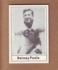 TOUGH 1977 Touchdown Barney Poole - New York Giants Baltimore Colts Mississippi