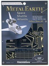 Metal Earth SPACE SHUTTLE ATLANTIS 3D Puzzle Micro Model