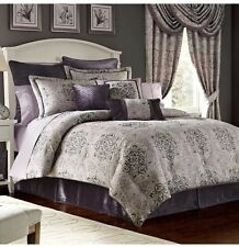 """Croscill Nomad One (1) Waterfall Swag Valance NEW Amethyst 48"""" X 33"""""""