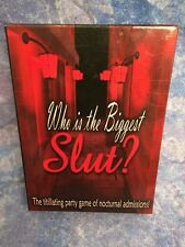 Adult Sexual Drinking Party Game WHO IS THE BIGGEST SLUT Better Sex Life