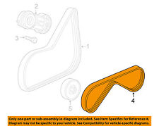 GM OEM-Power Steering Belt 12585310