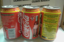 COCA COLA 0,33L ZOEK THE VLAM! COCA COLA SOFT DRINKS NV BRUSSEL empty can lata