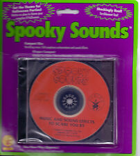 SPOOKY SOUNDS~HALLOWEEN HORROR~HORROR MUSIC~CD SOUND EFFECTS