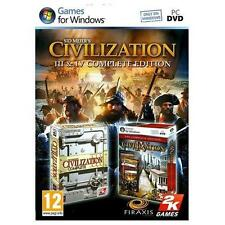 Sid Meier's Civilization III & IV Complete Edition PC Brand New and Sealed 3 & 4
