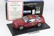 AUTOart 1:18 Ford Mustang GT 2005(2004 AUTO SHOW Version) Fire Red - L.E.3000pcs