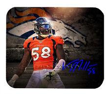 Item#2643 Von Miller Denver Broncos Facsimile Autographed Mouse Pad