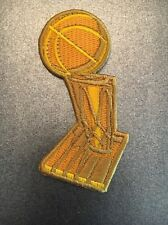 NBA Finals Larry O'Brien Championship Trophy Patch Warriors Cavaliers 2016