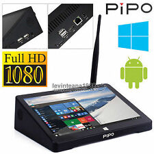 Original PIPO X9 Window 10 8.9inch screen Mini Pc Dual OS TV BOX Intel Tablet