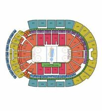 2 Tickets World Cup Of Hockey USA vs Canada Columbus Nationwide Arena Aisle Seat
