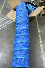 "NOS ABC THERMOHOSE 1399/SDW 12"" x 25' x 6""P WIRE-REINFORCED PVC FABRIC DUCTING"