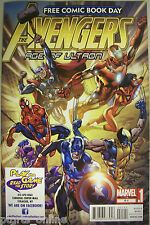 Avengers Age of Ultron #0.1 PLAY THE GAME READ THE STORY FCBD Retailer Variant
