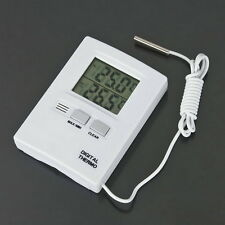 Digital LCD Thermometer Temperature Meter Tester Home Indoor Outdoor UL