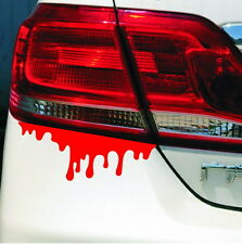 1 x Halloween Reflective Warning Car Stickers Blood Bleeding Decals Car Decor