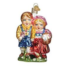 HANSEL AND GRETEL OLD WORLD CHRISTMAS GRIMM'S FAIRY TALE ORNAMENT NWT 24168