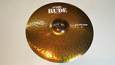 "PAISTE rude Crash Ride bacino 17"" Cymbal"