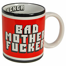BAD MO FO MUG Pulp Fiction Style 90's Movie Gift Classic Movie MOTHER FKER