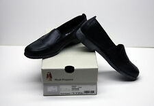 Hush Puppies Leather Shoes, Black, Comfortable, Size 8M, Loafers. New.