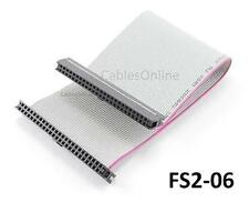 CablesOnline 6 inch 50-Pin Mini IDC 2.0mm Laptop Ribbon Cable,  FS2-06