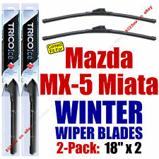 WINTER Wipers 2-Pack Premium Grade fit 1990-2016 Mazda MX-5 Miata - 35180x2